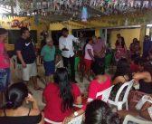 Prefeito Zezinho Costa reúne com a comunidade de Manoel dos Santos