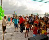 Prefeito Zezinho Costa visita a Comunidade do Quatipuru-Mirim